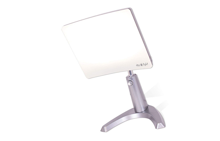 8. Carex Day-Light Classic Plus Bright Light Therapy Lamp