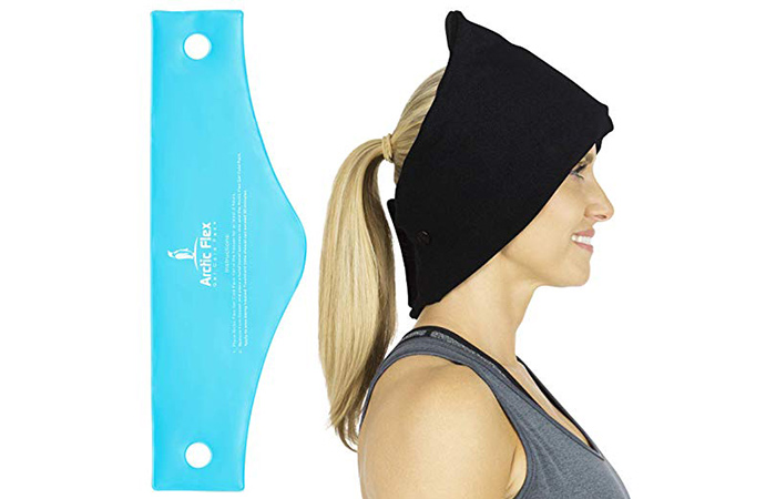Arctic Flex Headache Relief Ice Pack Hat