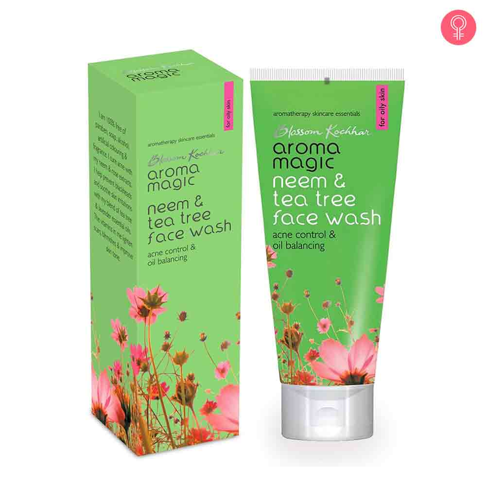 Aroma Magic Neem And Tea Tree Face Wash-0