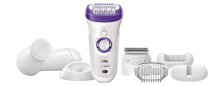 Best Overall Braun Silk-épil 9 9-579 Wet & Dry Cordless Epilator