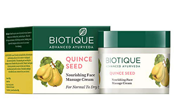 Biotic Bio Quins Seed Nourishing Face Massage Cream