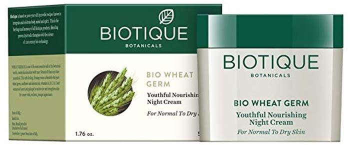 Biotique Bio Wheat Germ Youthful Nourishing Night Cream