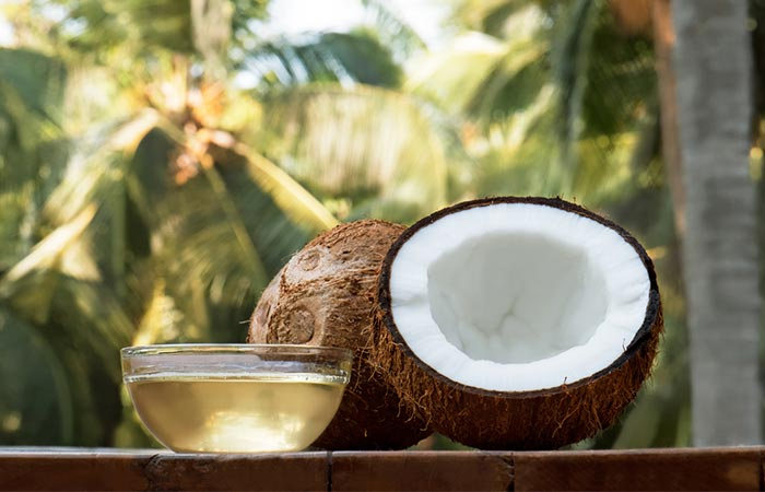 Coconut oil for bile stones