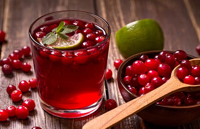 Cranberry juice for gallstones in the gallbladder