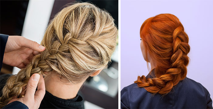 Difference Between French Braid Vs. Dutch Braid