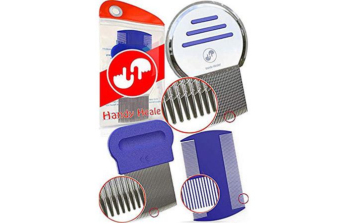 Hand Healer Lice Comb Set