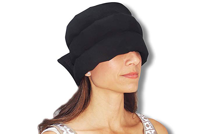 Headache Hat-The Original Wearable Ice Pack for Migraine Headaches and Tension Relief