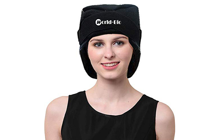 Headache Relief Ice Pack Hat