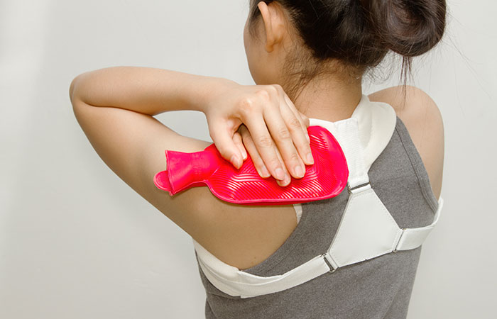 Heat pad for muscular pain in hindi