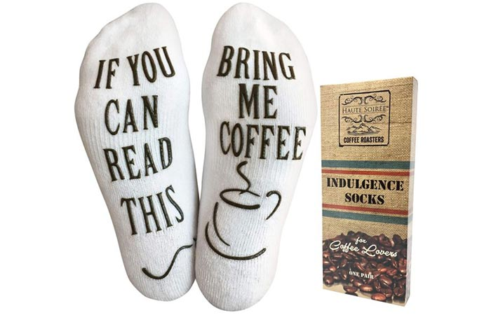 Indulgence Socks For Coffee Lovers