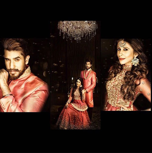 kishwersmerchantt </a> </strong>  / <strong> Instagram </strong></p> </div> <p>  You can call them the most advanced couples because they have a whole web series from their wedding, their wedding was the most discussed for the 2016 affair in their wedding included a magnificent wedding before the wedding, the virgin party, the surrealistic photo session of the bridesmaid; not to forget their ceremonies, prone to the sea and the chaldees – this pair just hangs it! They tied the knot on December 16, 2016, and their magical wedding! </p> <h2>  6. Sanctuary Irani And Mohit Sehgal </h2> <div id=