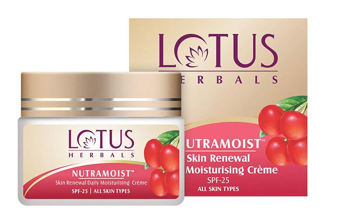 Lotus Herbals Neutramoist Skin Renewal Moisturizing Cream