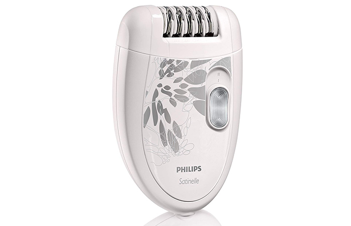 Most Popular Philips Satinelle Essential Compact Epilator – HP640150