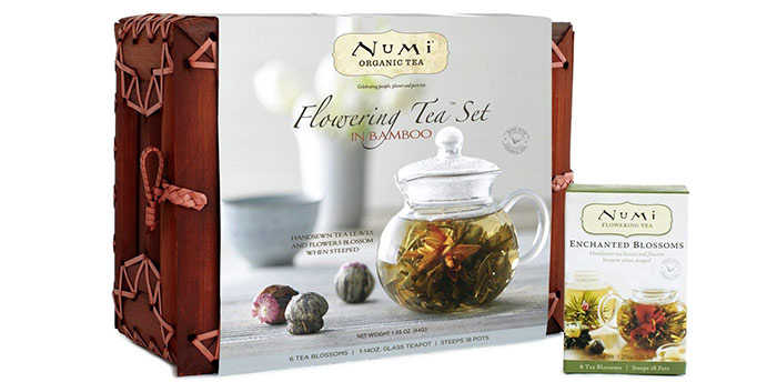 Organic Flowering Tea Gift Set
