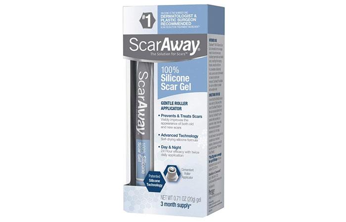 ScarAway Silicone Scar Gel