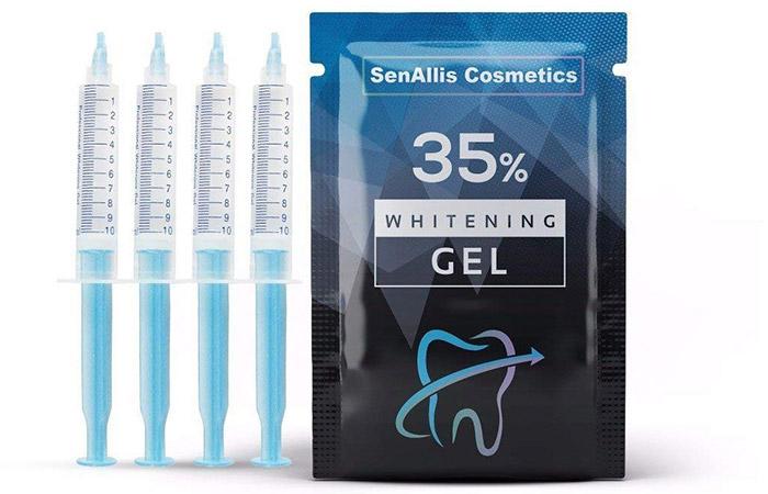 SenAllis Cosmetics Teeth Whitening Gel