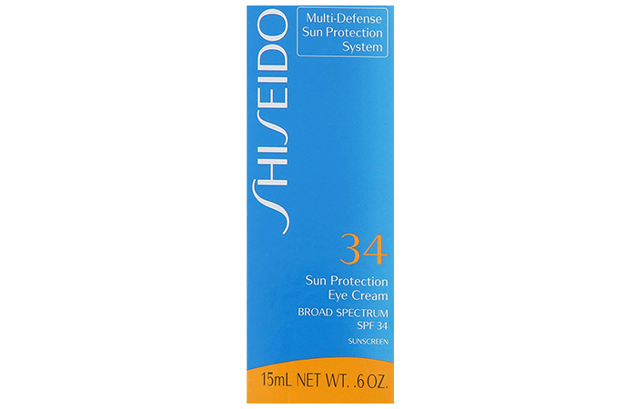 Shiseido Multi-Defense Sunscreen Eye Cream