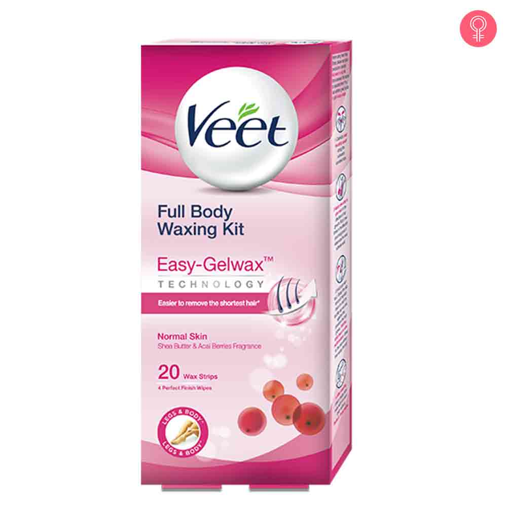 Veet Cold Wax Strips – Full Body Waxing Kit