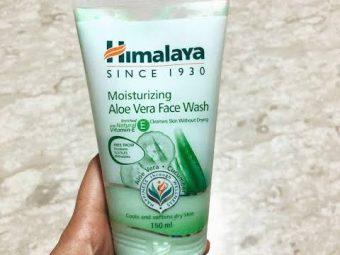 Himalaya Moisturizing Aloe Vera Face Wash -Himalaya aloe wash in my opinion-By barnali_bhattacharya