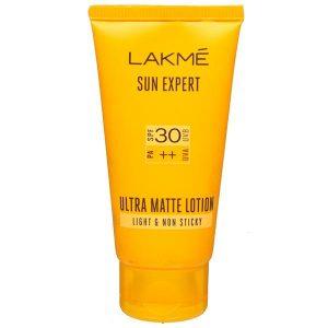 Lakme Sun Expert SPF 30 PA++ Ultra Matte Lotion -Moisturizes skin-By riya_neema