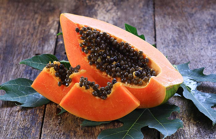 papaya for periods pain in hindi