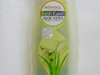 Patanjali Kesh Kanti Aloe Vera Hair Cleanser -user friendly packaging-By riya_neema