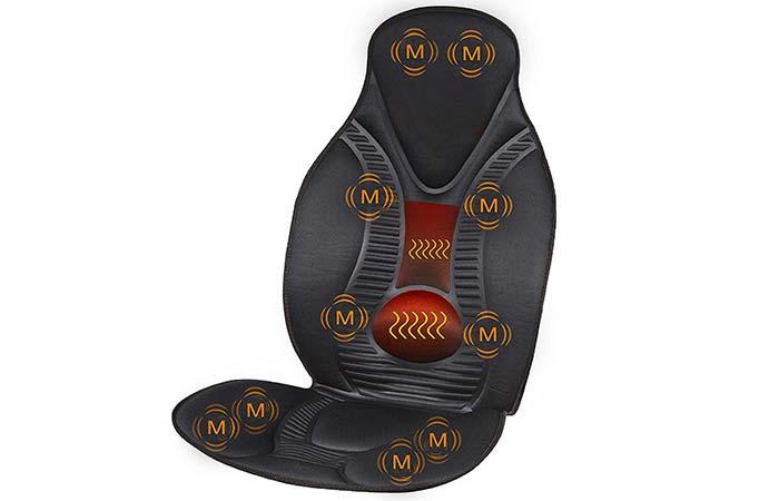 1. Five S Fs8812 Ten Motor Massage Cushion With Heat
