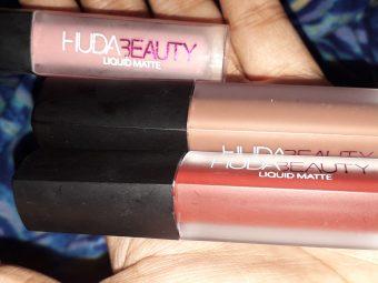 Huda Beauty Liquid Matte Lipstick pic 1-Huda Beauty matte lipstick-By arisha_
