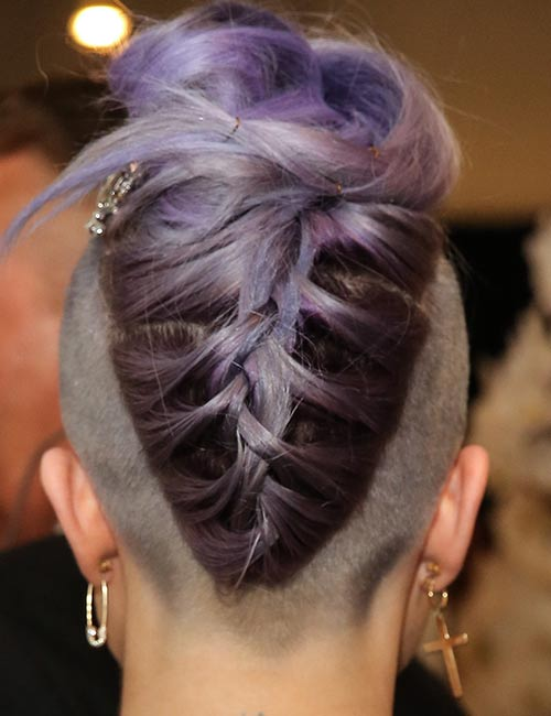 19. Loose Braided Undercut