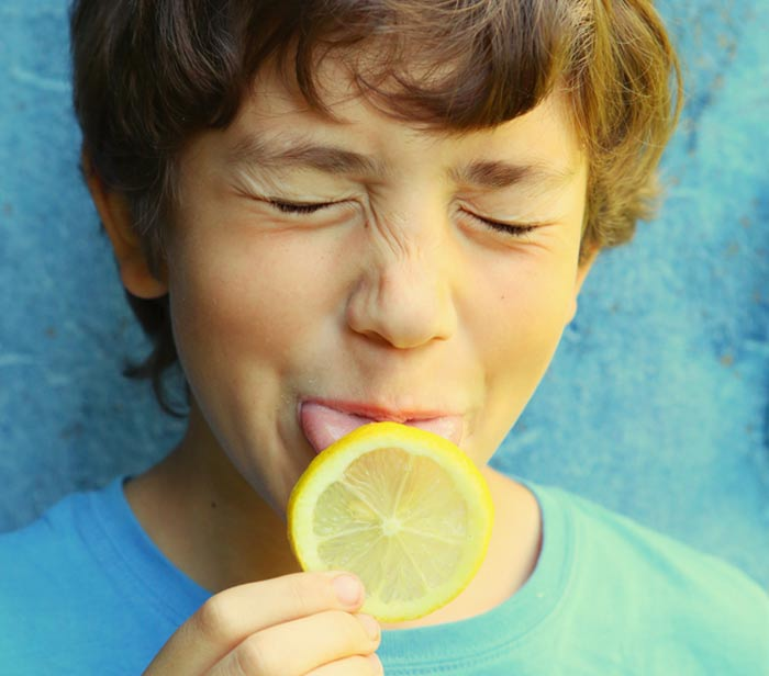 20. Eating A Sour Lemon Without Any Expressions Challenge