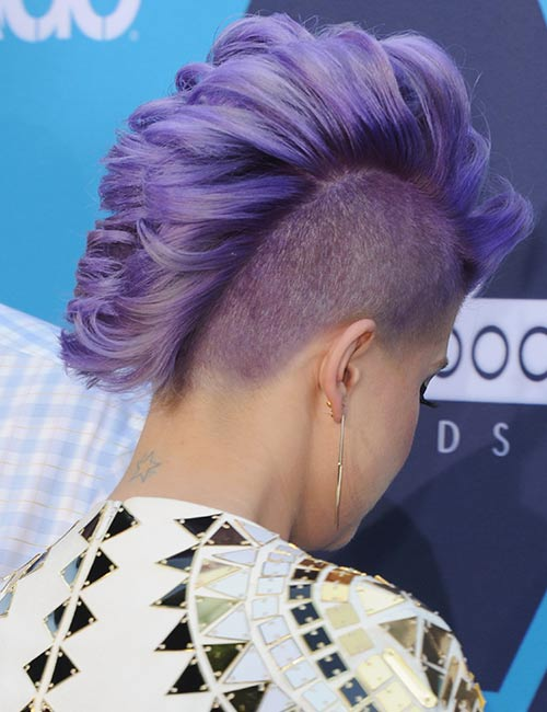 20. Mohawk Fishtail Undercut
