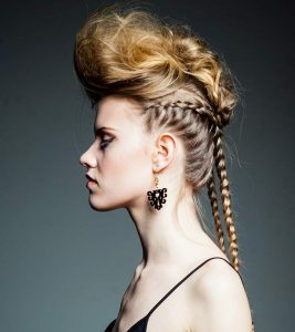 20 Best Braided Hairstyles With Shaved Sides And Faux Undercut