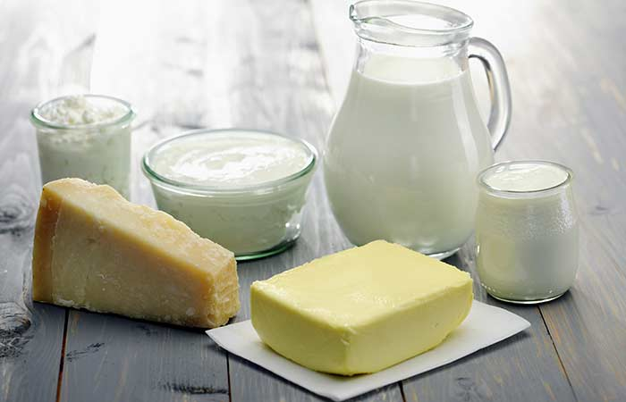 3. Milk (Dairy Products)
