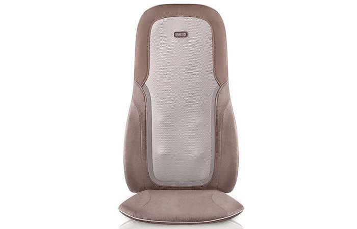 6. Homedics Quad Shiatsu Pro Massage Cushion with Heat