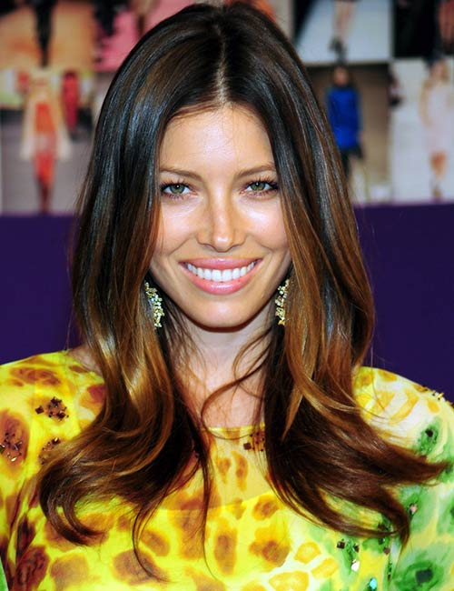 8. Brown Ombre