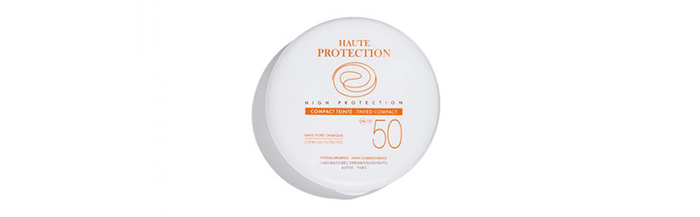 Avene High Protection Tinted Compact SPF 50