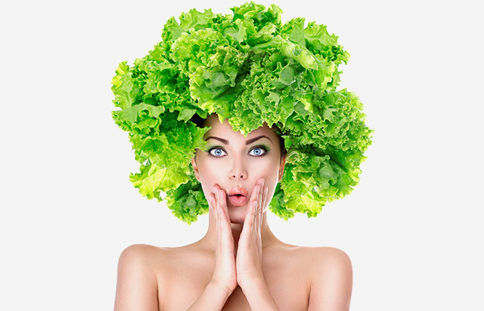 Benefits of Salad Leaf for Hair in hindi
