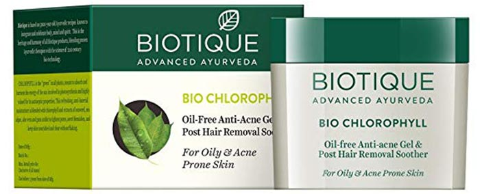 Biotique Bio Chlorophyll Oil Free Anti Acne Gel