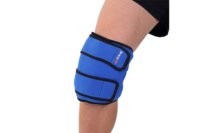 BraceUP Reusable Hot and Cold Ice Knee Wrap