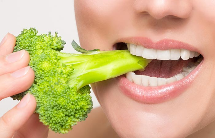 Broccoli for bones and teeth in hindi