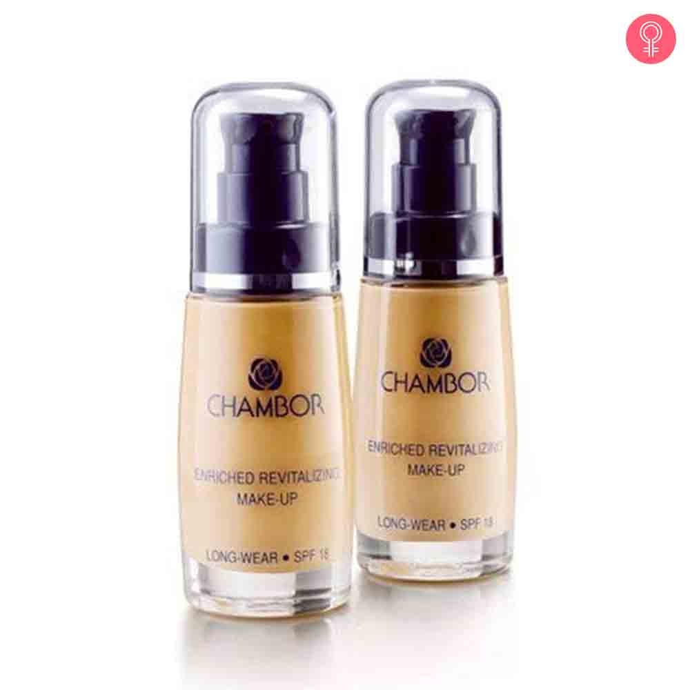Chambor Enriched Revitalizing Makeup Foundation