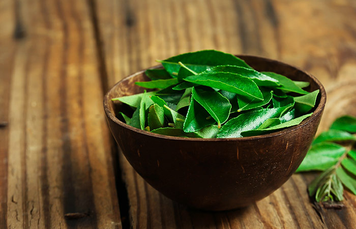 Curry leaf requirements in hair care