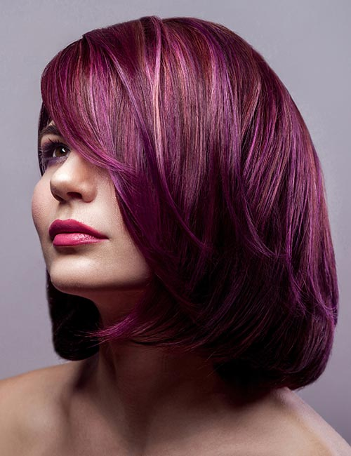Deep Pinkish Purple