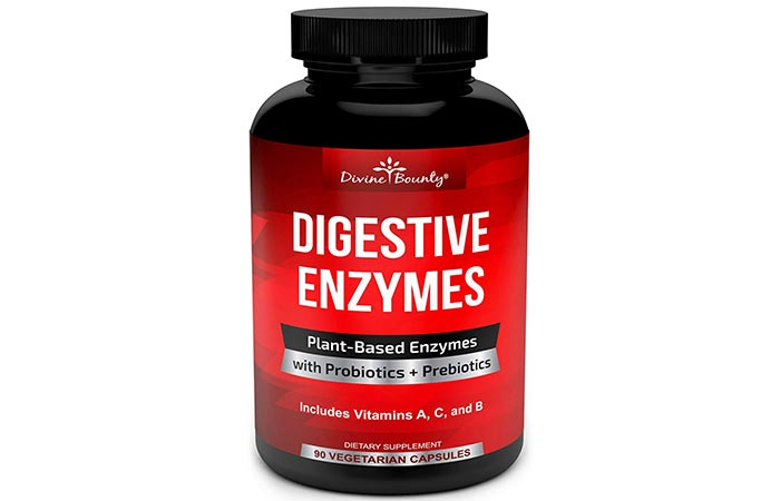Divine Bounty Digestive Enzymes