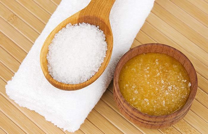 Epsom Salt And Honey Face Mask