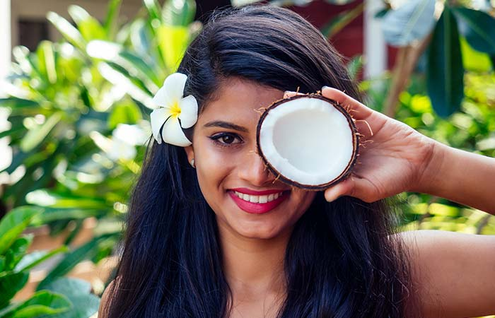 Coconut oil For hair in hindi