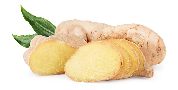 ginger for white spots treatment in hindi
