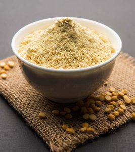 Gram Flour Besan Benefits Uses and Side Effects in Hindi