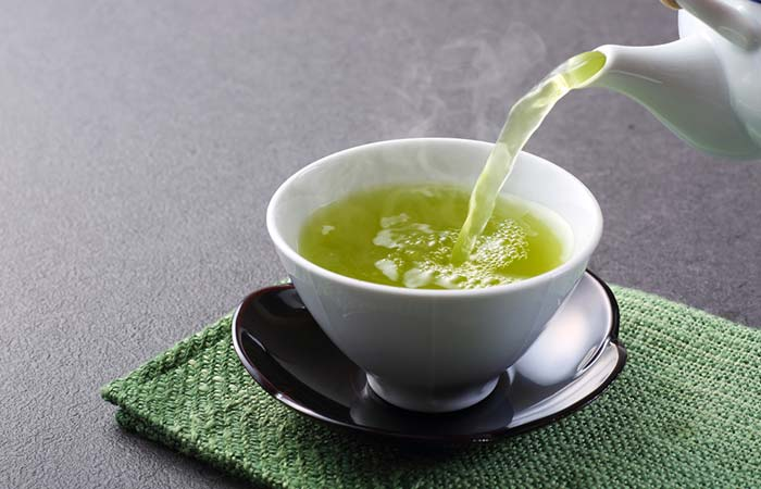 Green tea for white spots treatment in hindi