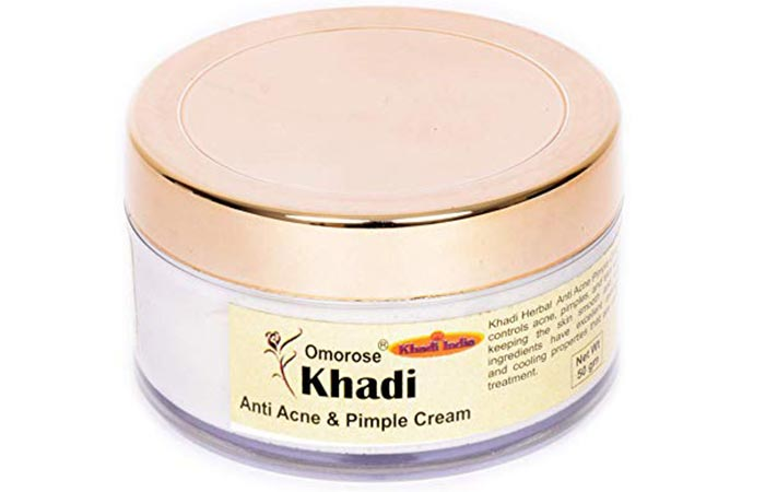 Khadi Omorose Anti Acne and Pimple Cream